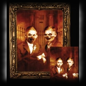 Face Changing Haunted Pictures Halloween Decorations
