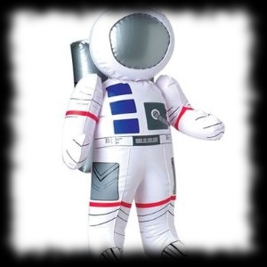 "Huge inflatable 27"" Astronaut balloon decoration for sale"