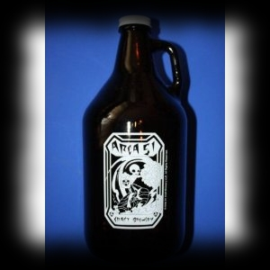 Area 51 Alien Bottle Beer Growler For Sale