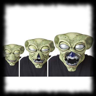 Moving Alien Mask Party Ideas For Halloween Alien Animated Mask
