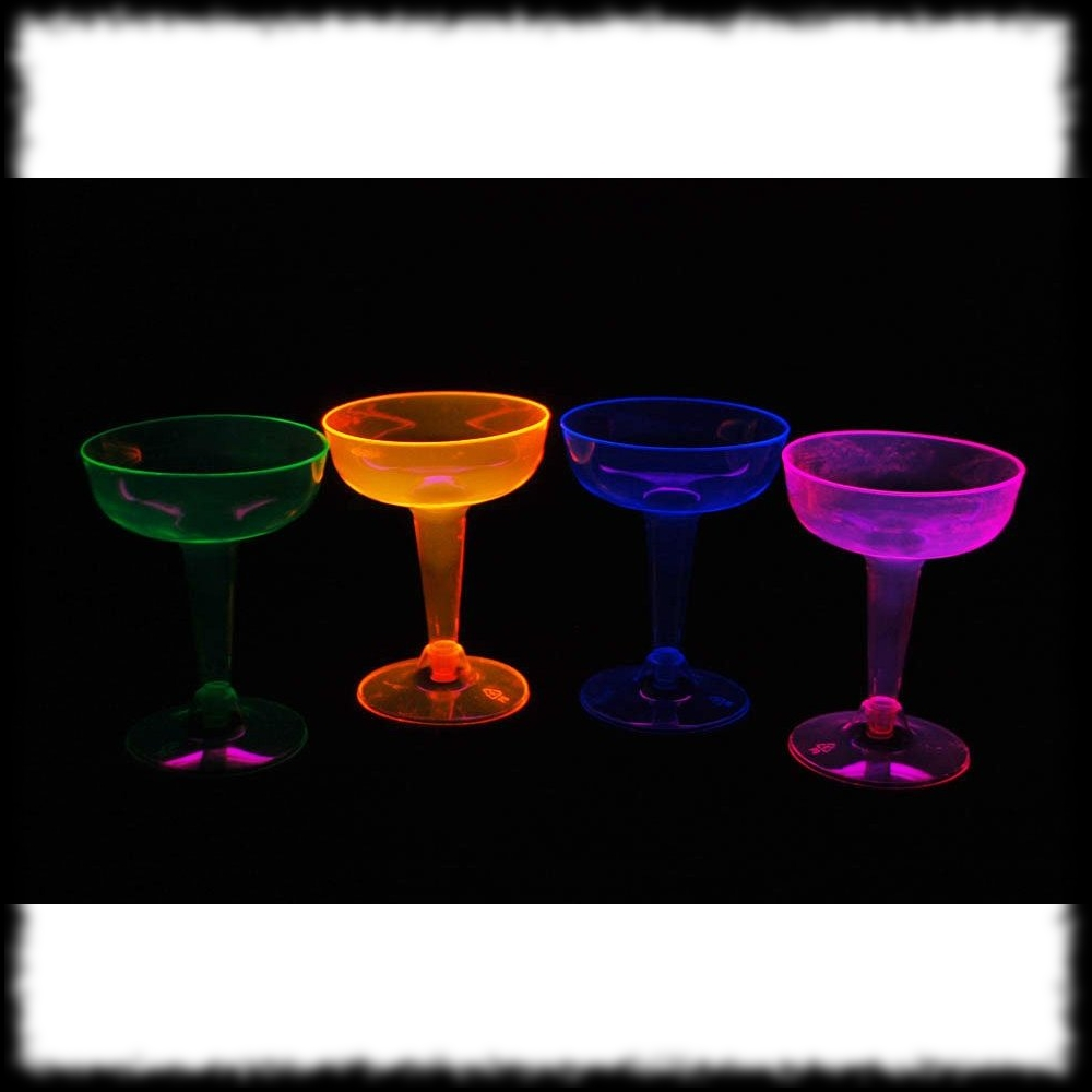 Halloween Party Ideas for Alien Theme Glowing Barware Glasses