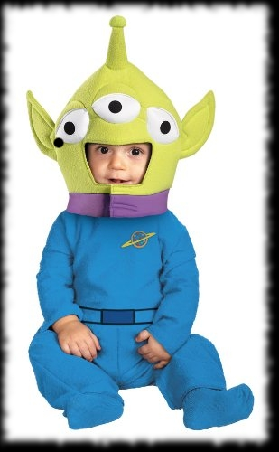 Childs Alien Kids Halloween Costume Ideas
