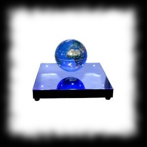 Alien Invasion Map Levitating Earth Map Party Decoration