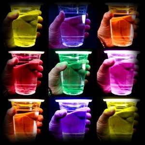 Alien Light Up Drink Cups for Halloween Party