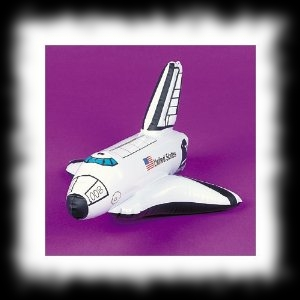 Space Shuttle Balloon Decoration for Halloween