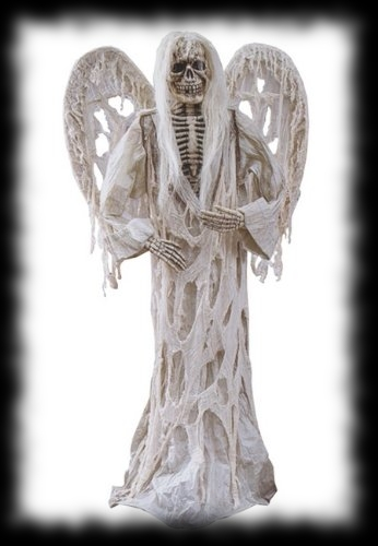 Graveyard Winged Demon Halloween Life Sized Decoration