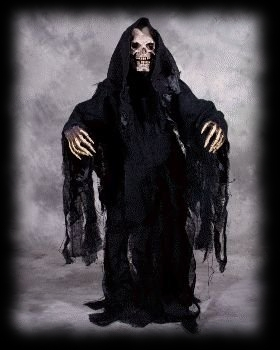 Deluxe Grim Reaper Death Halloween Costume For Sale