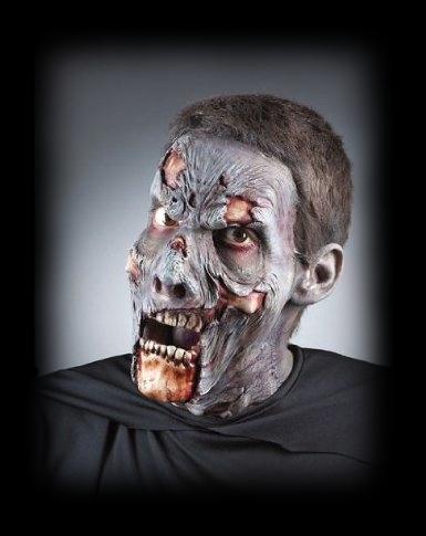 Zombie Corpse Advanced Makeup Kit for Halloween