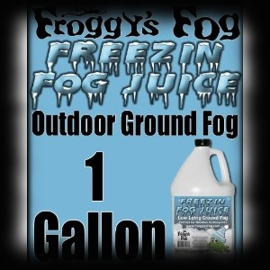 Deluxe FX Ground Fog Juice for Halloween Displays