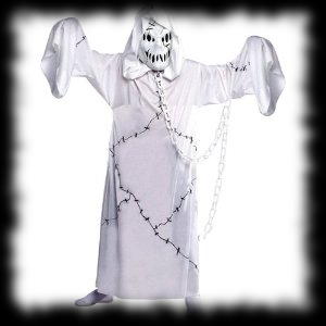 Ghostly Ghoul in Chains Haunting Your Graveyard This Halloween