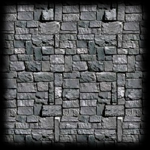 Graveyard Stone Wall Wall Decoration Roll For Sale