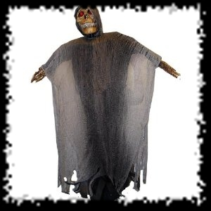 Remote Controled Animated Grim Reaper Halloween Costume