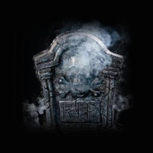 Tombstone Grave Marker Fog Machine Attachment