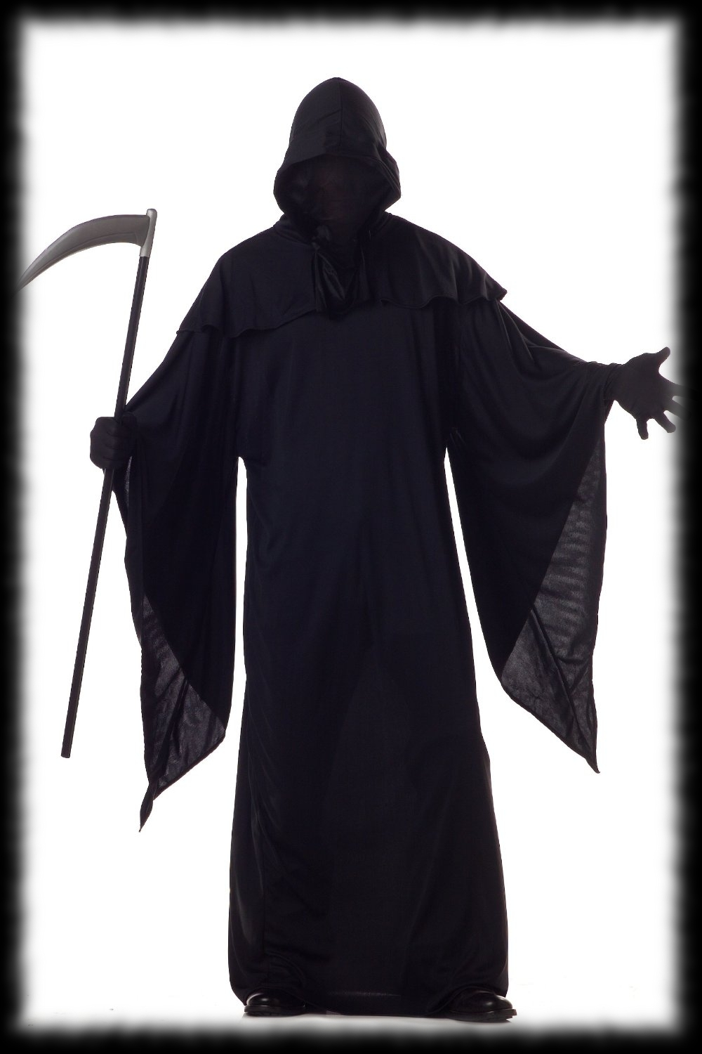 Black Out Grim Reaper Halloween Costume Idea