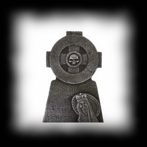 Tombstone Scale Graveyard Holloween Decoration Ideas