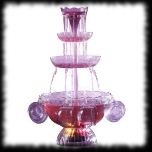Bubbling Drink Fountain Halloween Party Accessory Idea