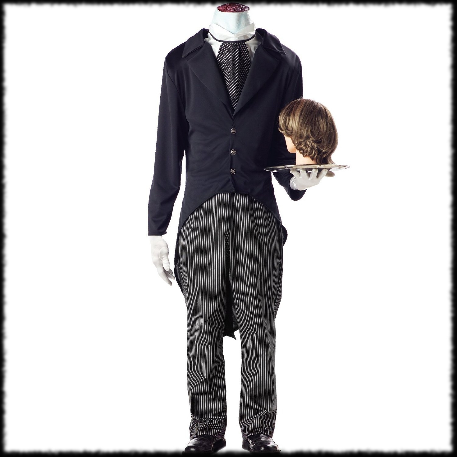 Headless Butler Halloween Costume For Halloween Parties