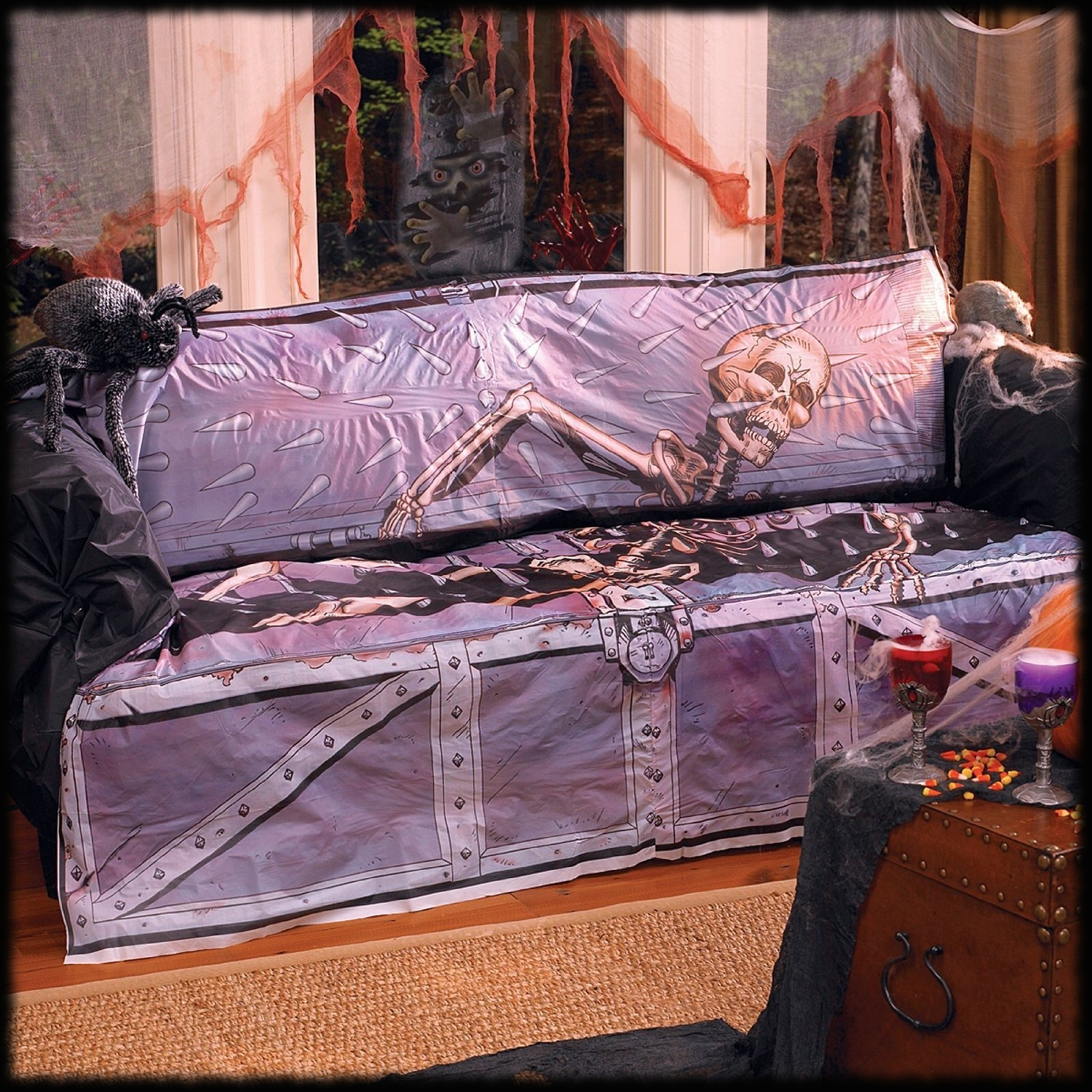 Haunted House Sofa Coutch Cover for Halloween Parties