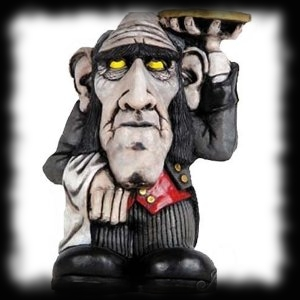 Butler Troll Haunted House Halloween Statue Decoration