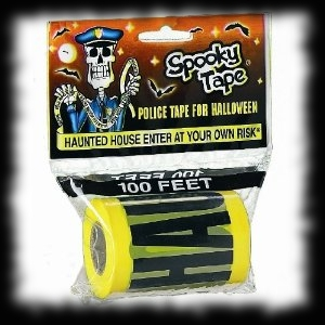 Haunted House Party Crime Scene Tape Do Not Enter