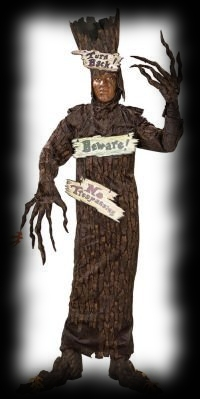 Haunted House Spooky Tree Halloween Costume