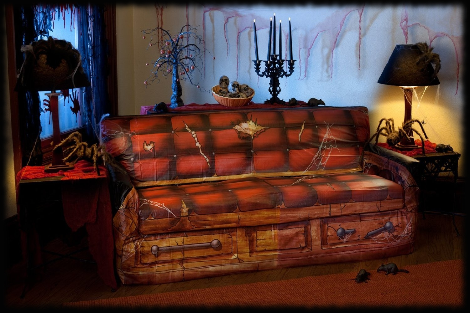 Sofa Couch Cover Haunted House Decorations For Sale ...
