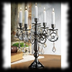 Haunted House Candelabra Halloween Decoration