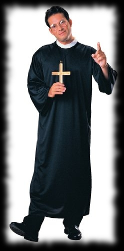 Priest Halloween Costume Father Religious