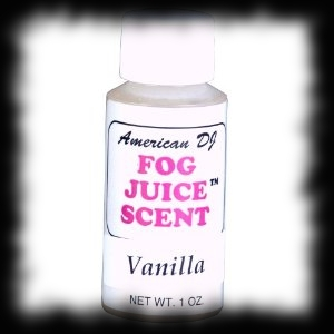 Vanilla Scent Fog Machine Juice Additive