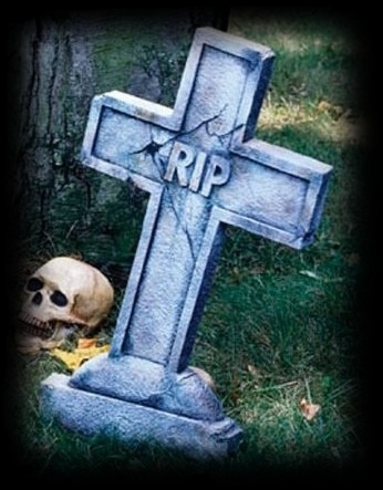 Party Ideas For Halloween Tombstones Graveyard!