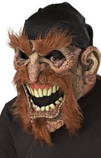 Scary Pirate Halloween Mask Ani-Motion Animated Mask mouth open
