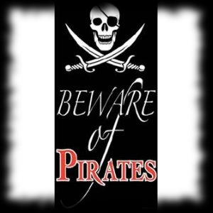 Party Ideas for Halloween Pirate Door Cover Decoration
