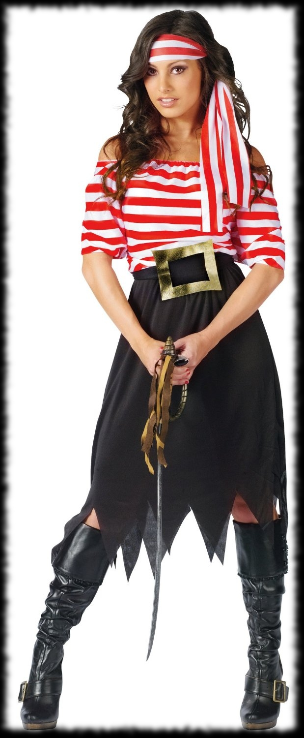 Woman's Halloween Pirate Costume For Sale