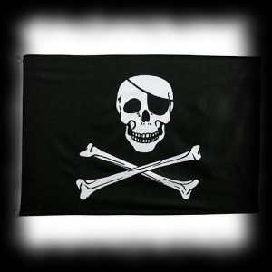 Skull and Crossbones Flag for Pirate Themed Halloween Parties