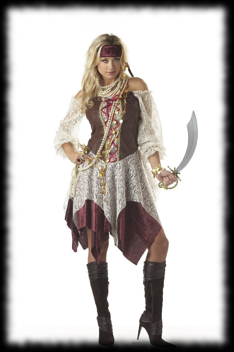 Buccaneer Pirate Woman's Halloween Costume For Sale