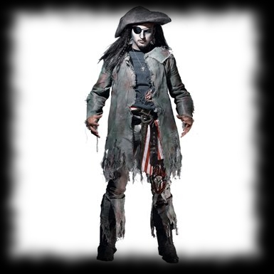Pirate Ghost Halloween Costume For Sale