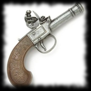 Pirate Pistol Replica for Pirate Halloween Costume Accessories