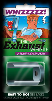For Sale trick exhaust whistle Halloween practical joke idea