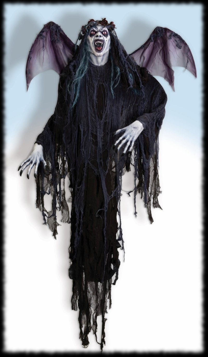 Large Vampire Halloween Party Decoration Idea Vampire with Wings
