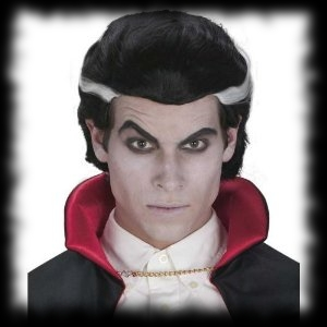 Dracula Wig Halloween Costume For Sale