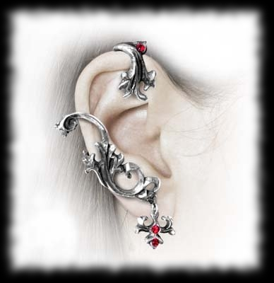 Vampire Earring Wrap Costume Accessory