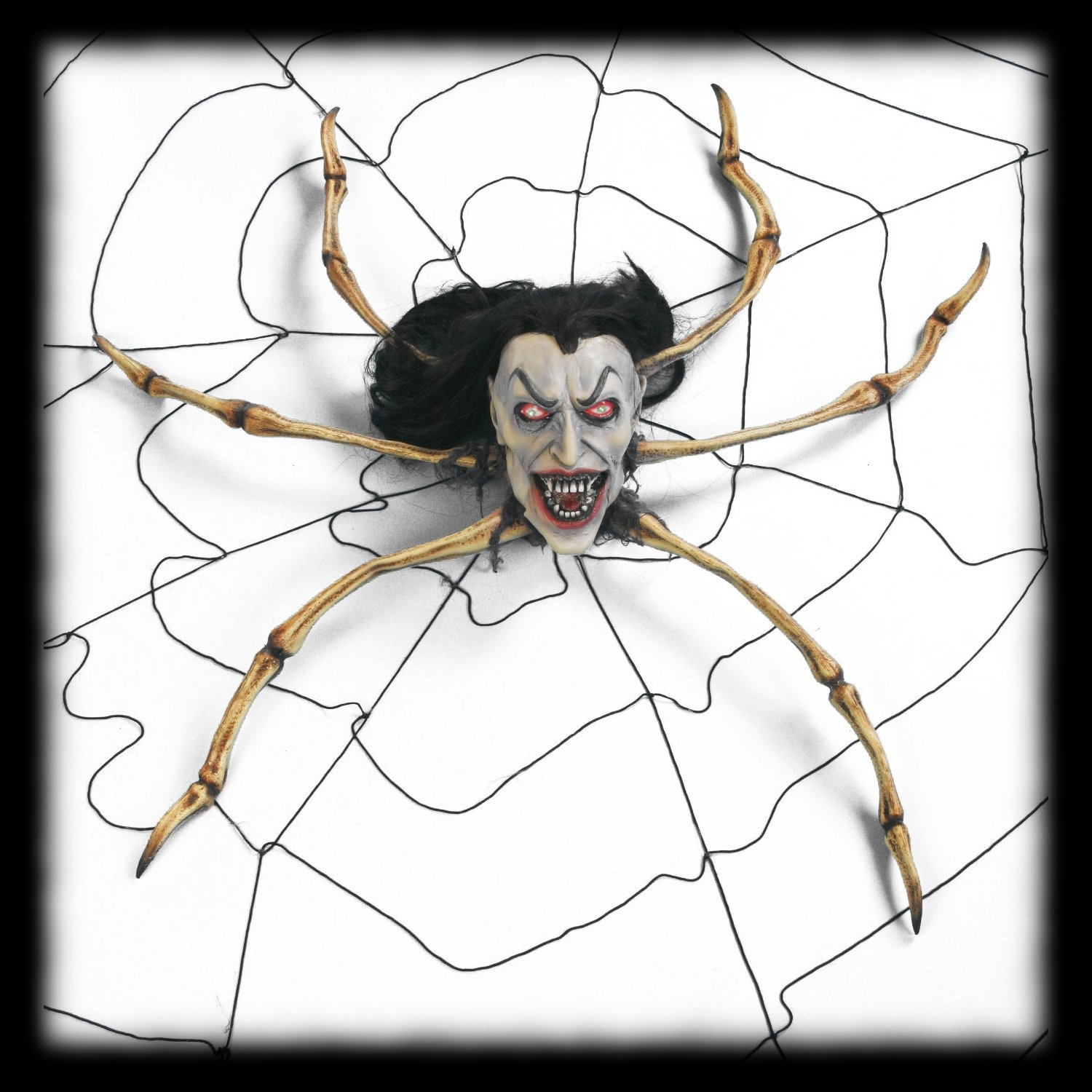 Animated Spider Vampire Halloween Party Decoration Idea