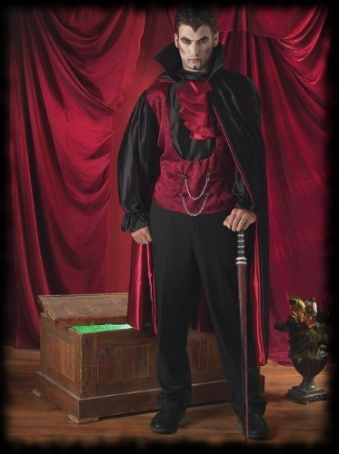 Deluxe Victorian Vampire Halloween Costume For Sale
