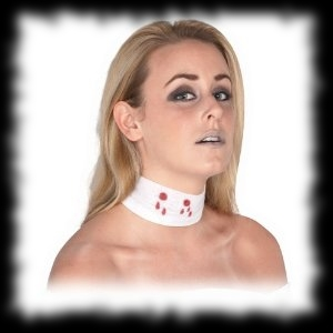 Halloween Party Ideas Vampire Themed Neck Bite Bandage