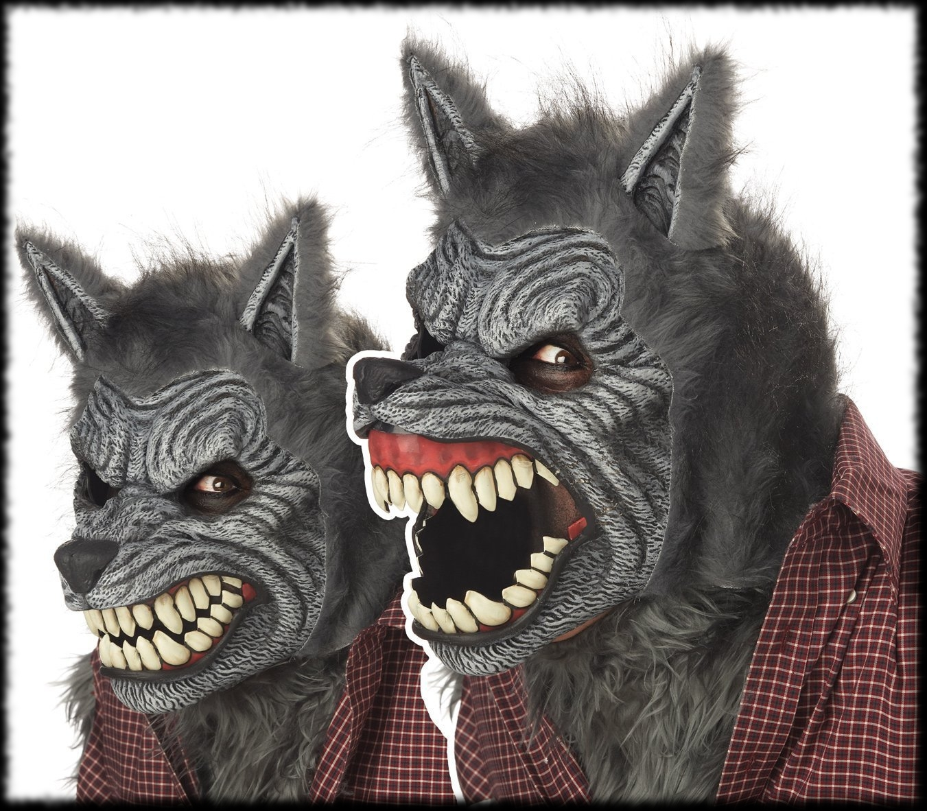 werewolf mask with moving mouth animated fx for sale