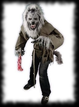 Deluxe Silver Werewolf Halloween Costume For Sale : deluxe werewolf costume  - Germanpascual.Com