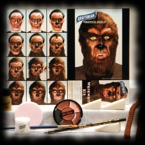 Werewolf Wolfman Makeup Kit For Sale