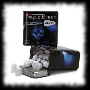 Silver Bullet Werewolf Protection Mints Halloween Candy