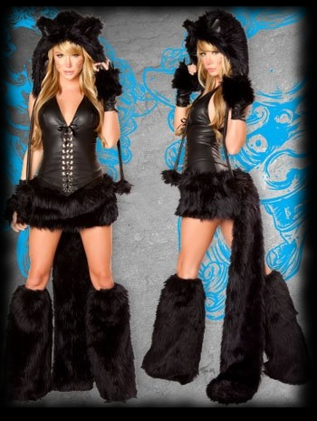 Womenu0027s Black Werewolf Halloween Costume For Sale  sc 1 st  Party Ideas For Halloween & More Werewolf Party Ideas For Halloween Page 2
