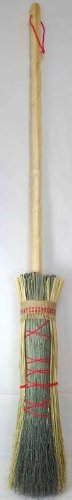Real Witches Broom Besom Round Broom Handmade Halloween Idea